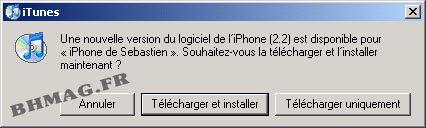 Apple iPhone : le firmware 2.2 est disponible