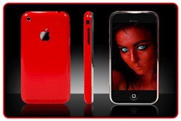 Rumeur : un iPhone 3G rouge pour Noël ?