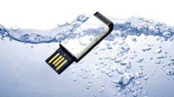 JetFlash T5 : une clé usb qui fait plouf !!