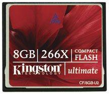 Des cartes Compact Flash 266x chez Kingston