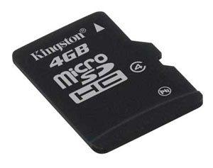 Kingston dévoile une microSDHC 4Go