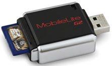 MobileLite G2 : un lecteur de cartes mémoires rikiki