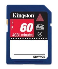 Kingston : des cartes mémoires pour caméscopes HD