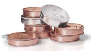 LaCie Currenkey : une clé à ranger dans le porte monnaie