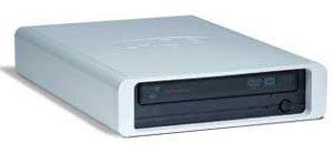 LaCie : un graveur DVD 22x externe et LightScribe