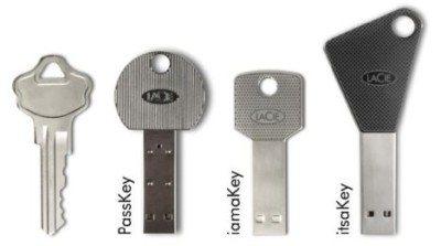 LaCie : des clés usb originales en forme de clés !