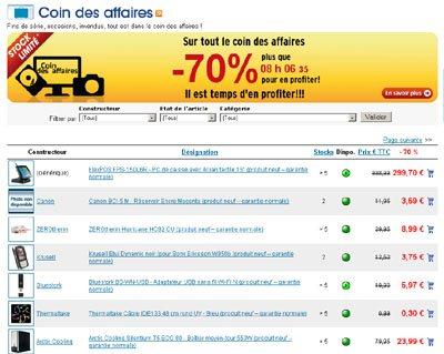 Soldes : 70% de réduction chez LDLC.com !
