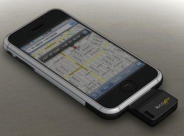 Un module GPS pour l'iPhone et l'iPod Touch