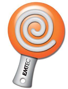 Lollipop : une clé usb en forme de sucette