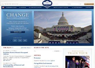 La maison blanche s'offre un site web 2.0