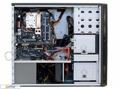 Le boitier Antec P190+ 1200 en détails