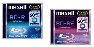 Des mini disques Blu-ray de 7,5Go chez Maxell