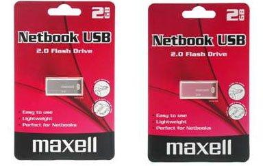 Maxell USB Netbook : une clé usb destinée aux ultra portables