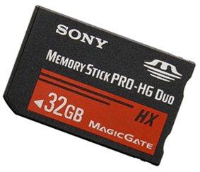 Une Memory Stick de 32Go annoncée par Sony
