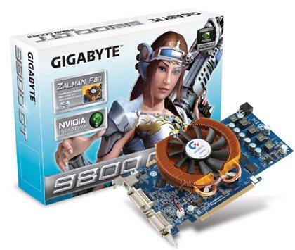 Une 9800GT avec HDMI et Zalman chez Gigabyte