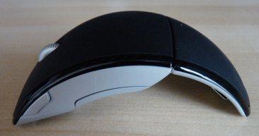 Une souris en arc de cercle chez Microsoft