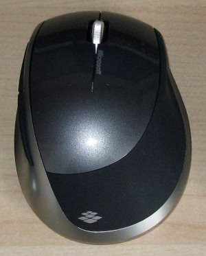 Test de la souris Microsoft Explorer Mini Mouse
