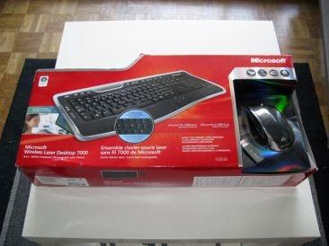 Zebulon examine le kit Wireless Laser Desktop 7000
