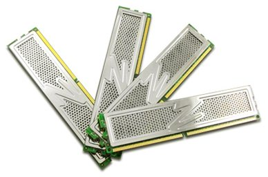 Un kit de 8Go de DDR2 PC2-6400 chez OCZ
