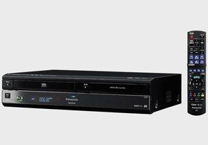 Une platine Blu-ray, DVD, CD, VHS chez Panasonic