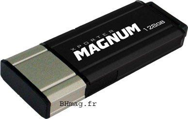 Détails, prix et photo de la clé usb Xporter Magnum 128Go