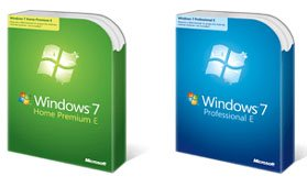 Les précommandes de Windows 7 E reprennent !
