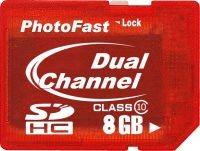 Des cartes SDHC de class 10 chez PhotoFast