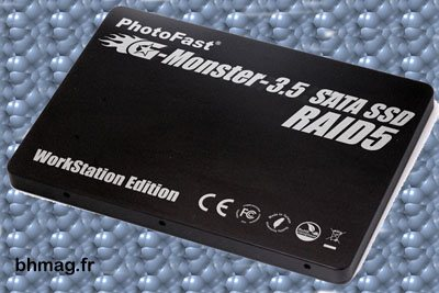 Un SSD de 2 Tera Octets chez PhotoFast !