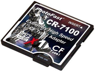 PhotFast CR-7100 ou comment utiliser des microSD dans vos appareils Compact Flash…