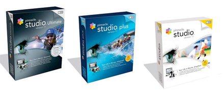 La gamme de logiciels Pinnacle en version 11