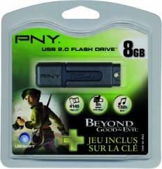 PNY offre un jeu vidéo avec sa clé usb Attaché