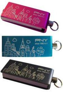 PNY lance les clés usb Micro Attaché City