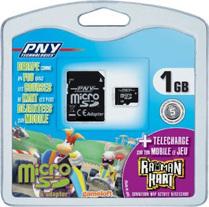 Un bundle microSD et Rayman chez PNY