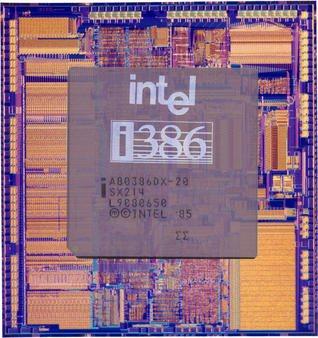 Les processeurs INTEL x86 les plus marquants