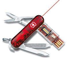 Un couteau suisse très high tech et sécurisé