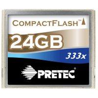 Des Compact Flash de 1 à 48Go chez Pretec