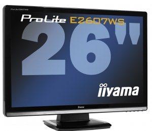 Deux moniteurs LCD 26 pouces chez IIYAMA