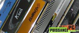 Comparatif de 6 kits de mémoire DDR3