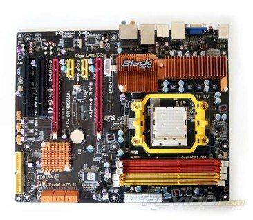 La carte mère ECS A790GXM-AD3 en détails