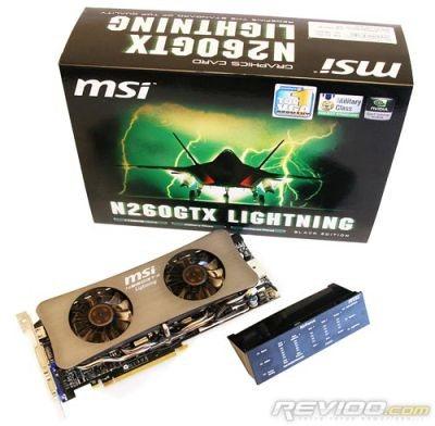 MSI N260GTX Lightning analysée