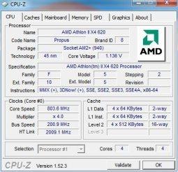 AMD Athlon II X4 620 : comment réduire sa consommation ?