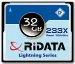 Une Compact Flash de 32Go chez Ridata