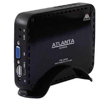 Rixid FG-200 : un HDD multimédia assez compact