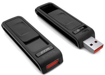 Des clés usb sécurisées et d'une capacité de 8 à 64Go chez SanDisk