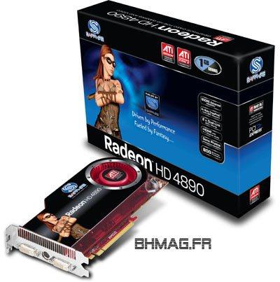 Sapphire : Radeon HD 4890 et 4890 OC Edition