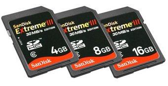 Des cartes SDHC très très rapides chez SanDisk