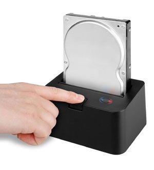 Une station d'accueil pour disque dur SATA