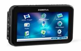 Nouveau baladeur multimédia : Sigmatek SMP-100