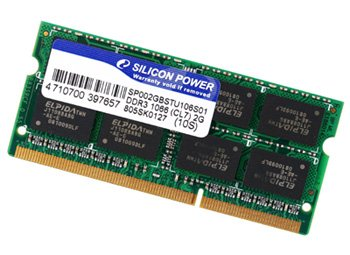 Silicon Power dévoile de la DDR3 PC3-1066 So-Dimm