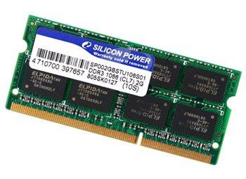 Silicon Power dévoile de la DDR3 PC3-1066 So-Dimm